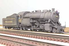 Here is my custom o scale model of prr g 5 5720 as it appeared in its last days of prsl service i reworked an mth by removing some out of scale smokebox